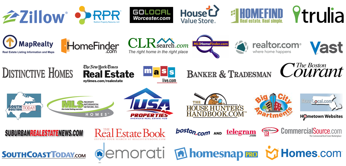 real estate Logo Collage